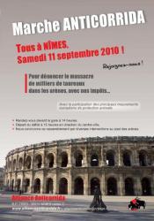 Manifestation le 11/09/2010 à Nîmes