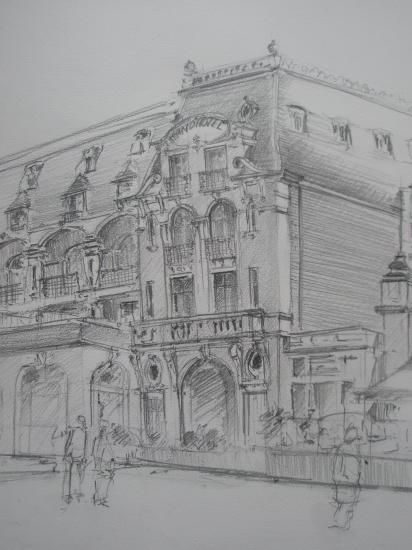 Casino Cbourg crayon 2B 2005