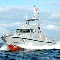 Nouvelle vedette de la marine nationale