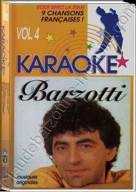 K7 vidéo VHS karaoké vol 4