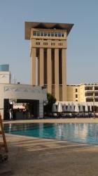 La piscine et la tour - Août 2010