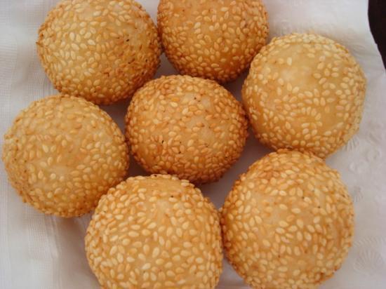 beignets au sesame chine