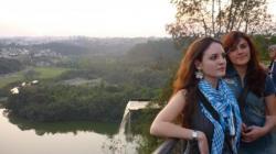 Bruna e Amanda na parque norte cidade - Curitiba
