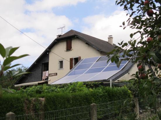 Gite photovoltaique