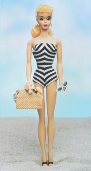 copie 1ere poupée barbie 1959