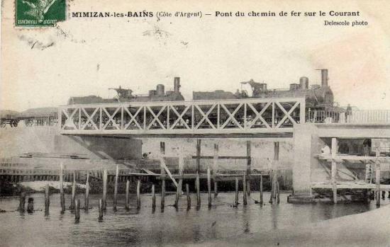 Epreuve de force sur le pont du Courant de Mimizan