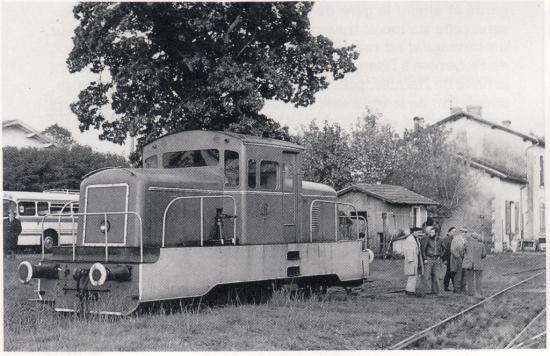 LT n°11 à Parentis en 1976