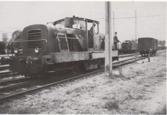 BB 01 à Labouheyre en 1973