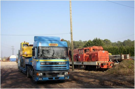 BB 01 à Laluque en 2006