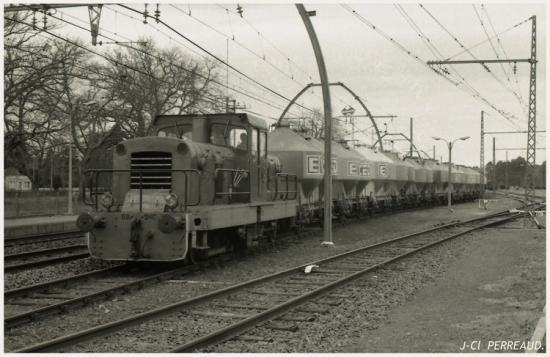 BB 207 à Ychoux en 1985_1