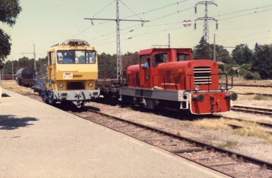 BB 207 à Ychoux en 1985_2