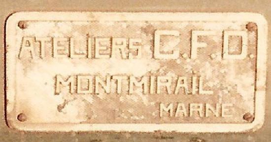 Plaque Montmirail