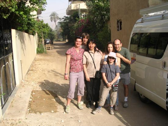 L'équipe de Terre des Pharaons VIII