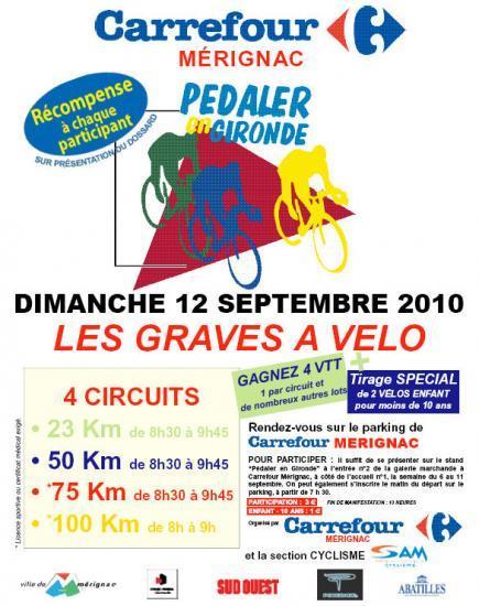 12 septembre p daler en gironde d part carrefour - Horaire carrefour merignac ...