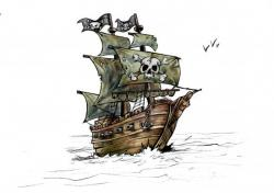 navire pirate des caraïbes