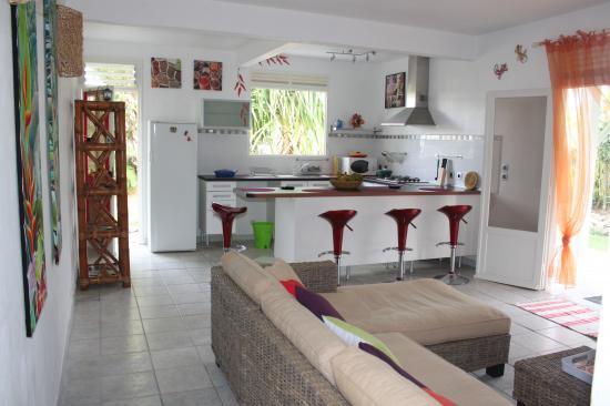 Салон для отдыха в Гваделупе