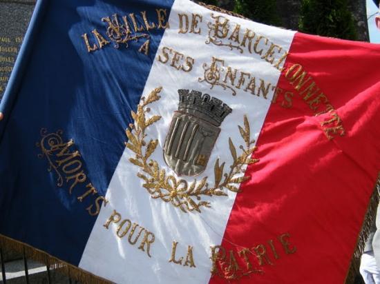 Le drapeau de Barcelonnette