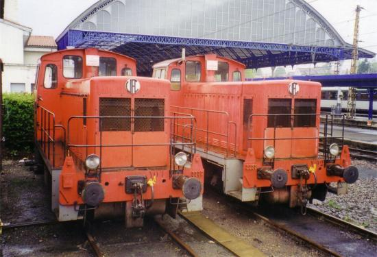 Les Y 01 et Y 02 à Dax