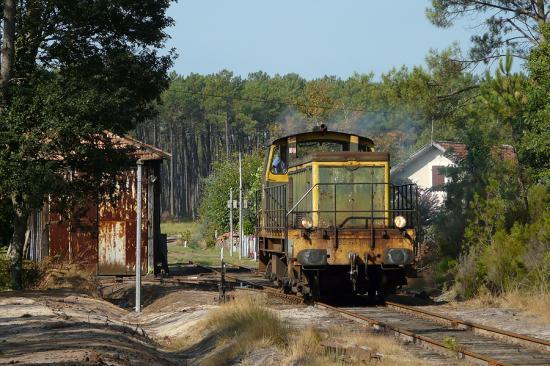 BB 63540 au dépôt VFL de Laluque