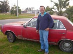Marcelo y su opel Commodore - San carlos