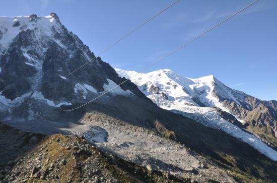 Plan de l'Aiguille : Téléphérique de l'Aiguille du Midi