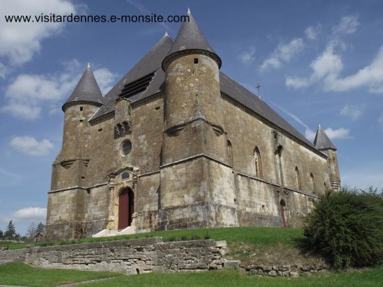 Saint Juvin ( l' église fortifiée )