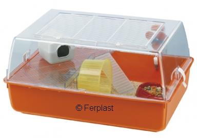 cage habitat gerbille