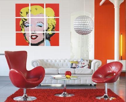 tendance d co pop. Black Bedroom Furniture Sets. Home Design Ideas