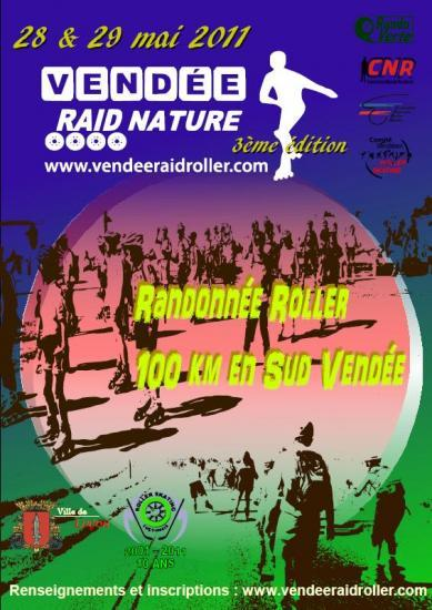 Affiche vendee raid nature