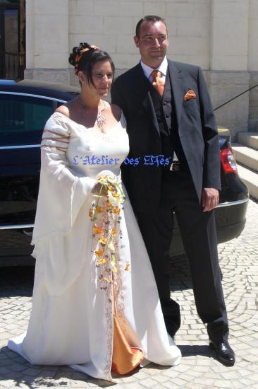 Robe de mariee quand on est ronde
