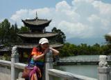 Portrait au parc de l'étang du Dragon Noir (Lijiang)