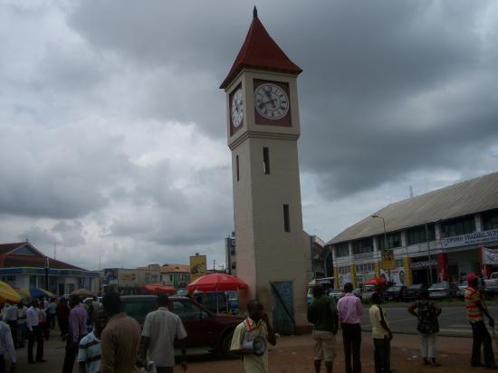 Horloge - Centre de Kumasi