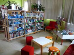 Un espace réservé aux enfants et aux bébés lecteurs.