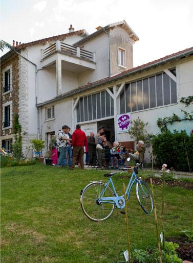 On vient à vélo à La Laiterie