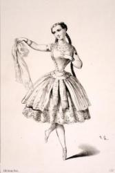 "Mlle Plunkett dans ""L'enfant prodige"""