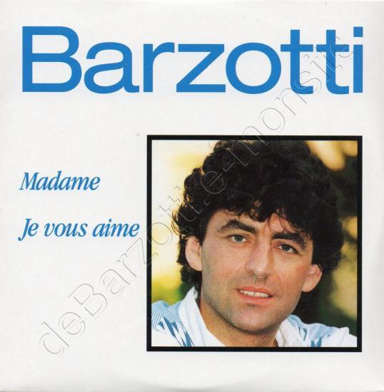 CD 2 titres MADAME / JE VOUS AIME 1995 (CD promo)