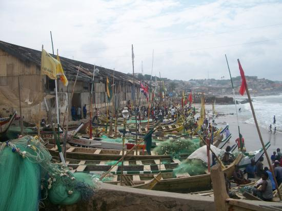 Pêcheurs de Cape Coast