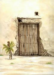 Une porte dans le Glofe P