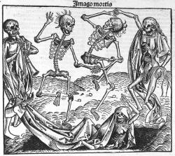 Danse macabre - Liber chronicarum - 1493