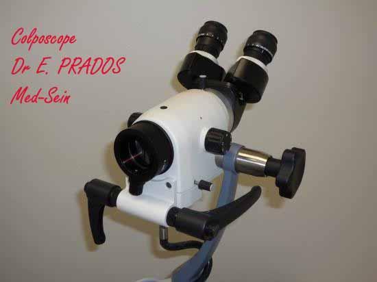 Colposcope /  Dr E. PRADOS  /  Med-Sein