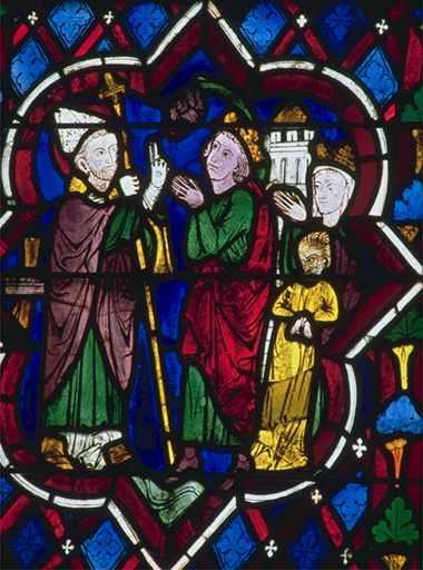 Saint simon rencontre Privatus, seigneur de Dol, sa femme atteinte de la lèpre et leur fille possédée