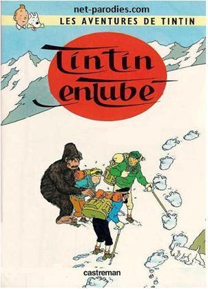 parodie bd tintin au tibet entubé