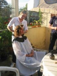 Salon de coiffure...