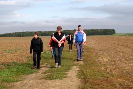 Chantal, Gaëlle, Richard et derrière, Maria