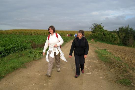 Catherine L et Chantal