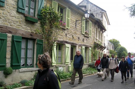 Rue Daubigny à Auvers sur Oise