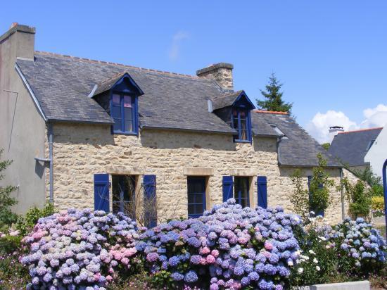S rie habitats - Maisons bretonnes typiques ...