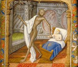Danse macabre - Fin XV° siècle.