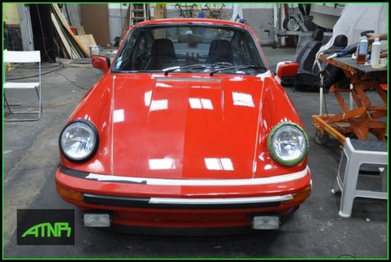 Rénovation Porsche 911 SC 1979