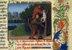 Jean Mansel, Fleur des histoires, fin 15° siècle, BNF, Paris.